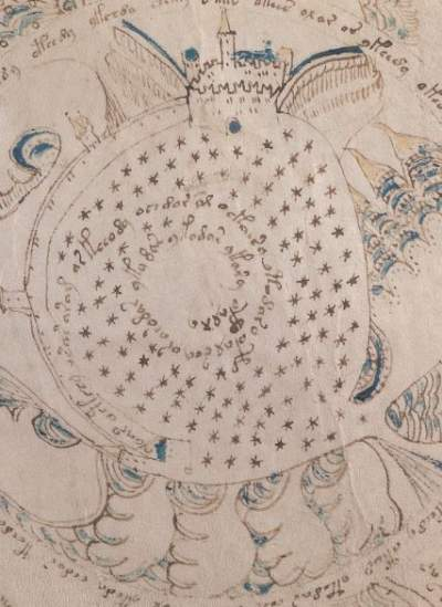 Voynich Manuscript Depiction of a Heretic Fortress